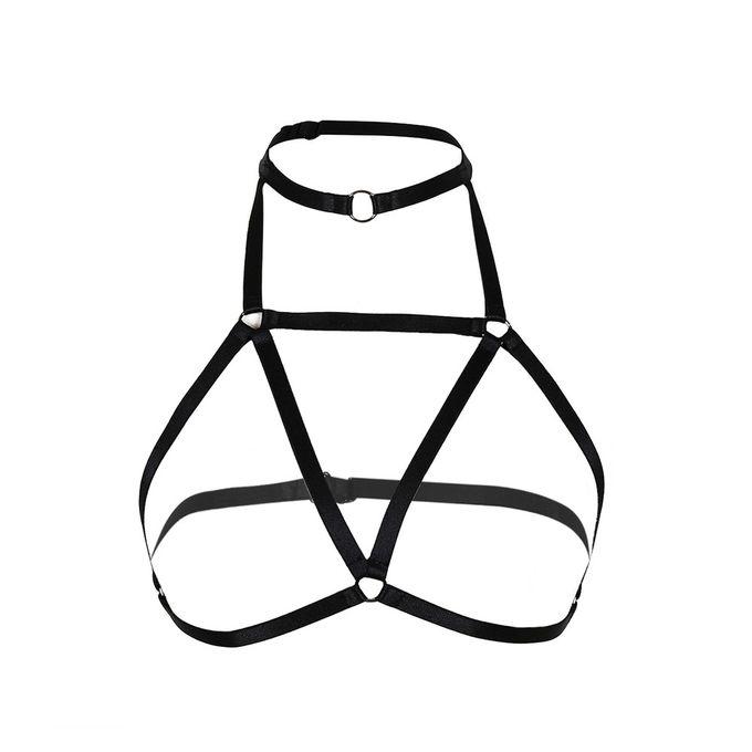 Necklace Harness Crystal Chest Body Chain Bra Jewelry Rhinestone Stylish Body Chains Fashion Jewelry