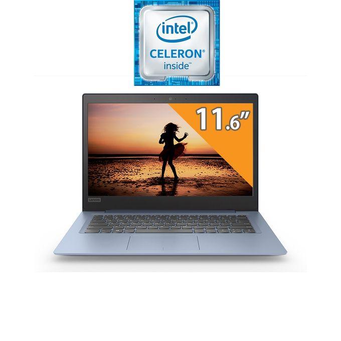 Ideapad 120s-11 لاب توب - انتل سيليرون - رام 4 جيجا - هارد HDD 500 جيجا - شاشة HD 11.6 بوصة - رسومات انتل - DOS - أزرق - لوحة مفاتيح باللغة الإنجليزية