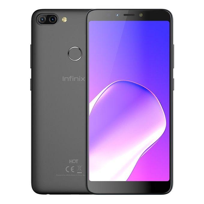 X608 Hot 6 Pro - موبايل 6.0 بوصة - 32 جيجا - أسود