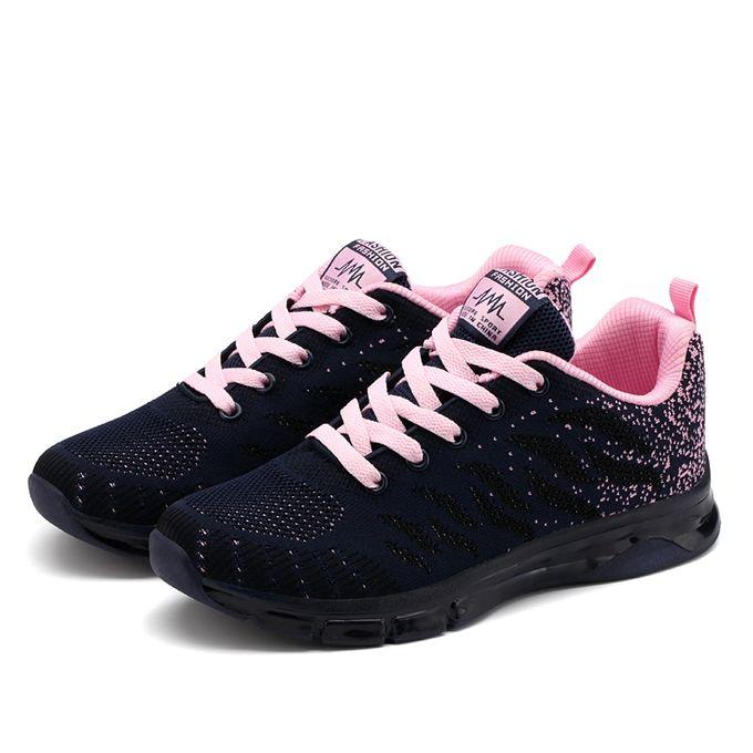 00aea3c7b Women Air Cushion Running Shoes Breathable Sport Sneakers - Jumia مصر