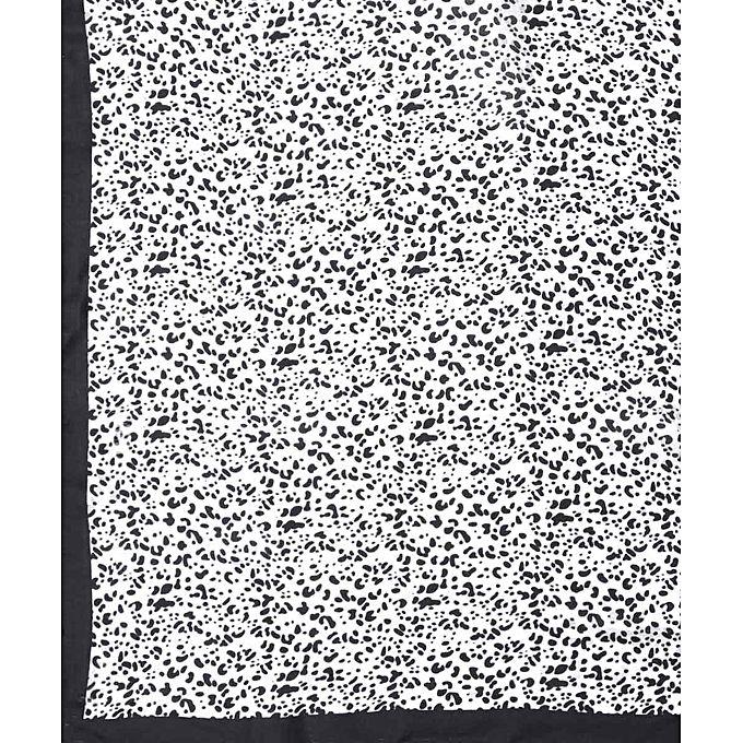 tie shop dotted square veil black white