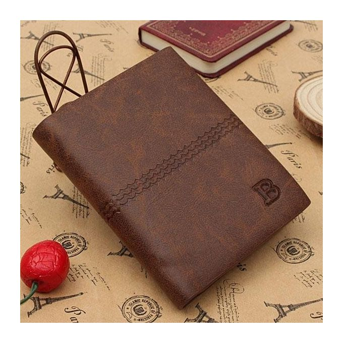 Genuine leather mens wallet business credit card holder money purse genuine leather mens wallet business credit card holder money purse bifold gift light coffee reheart Choice Image