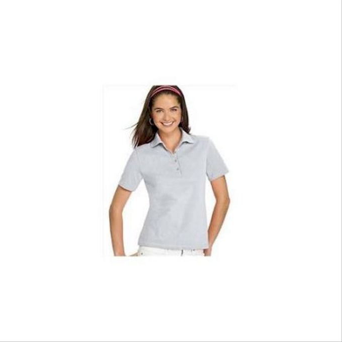 Hanes Stedman Ladies 7 oz. Cotton Pique Polo 035