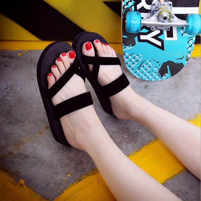 c24e534509e2 Womens Summer Flip Flops Casual Slippers Flat Sandals Beach Open Toe Shoes