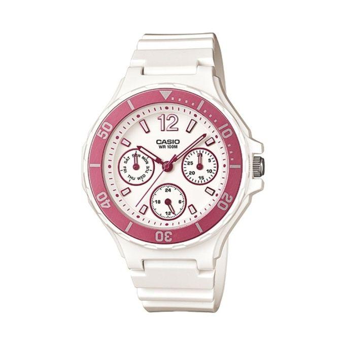 f3cba8c1f9e43 LRW-250H-4A Resin Watch - White - Jumia مصر