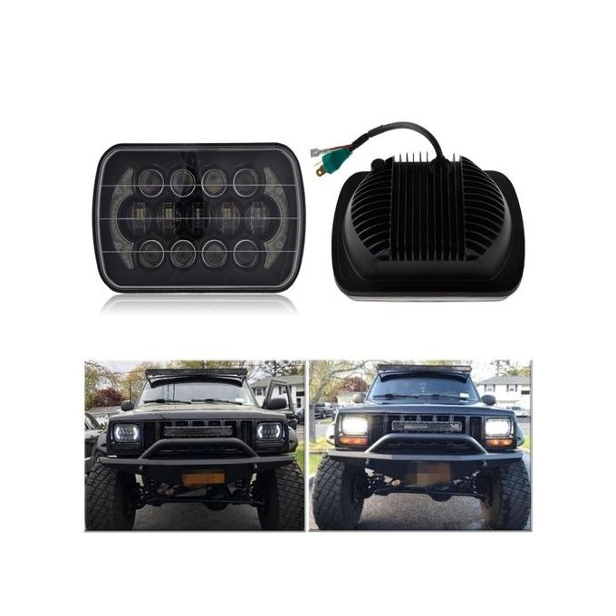 Hid Light Bulbs >> Jumia Anniversary Deal Sale On 7x6 Black Led Dot Hid Light Bulbs