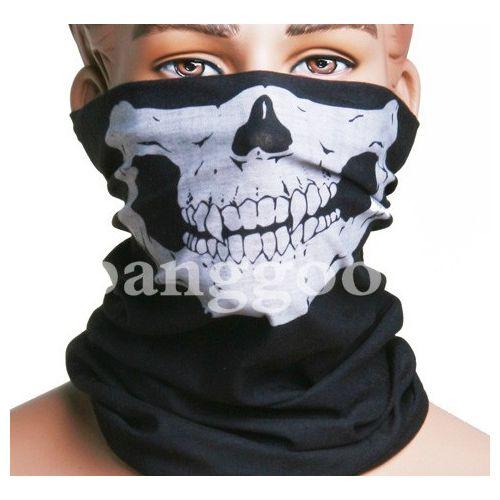 Sale On Skull Multi Purpose Head Wear Hat Scarf Face Mask Cap