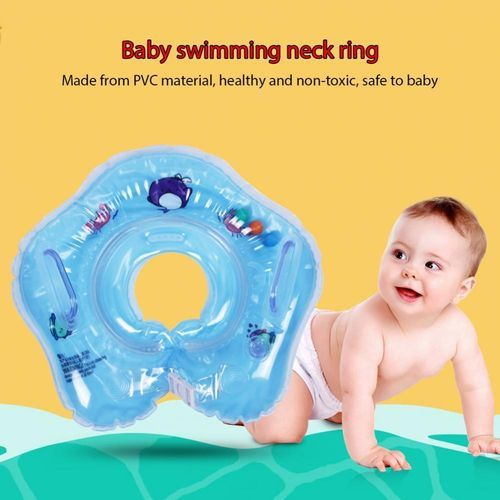 8baa754148 Generic Baby Neck Ring Bath Swimming Pool Float Inflatable Double Balloon  Safety Circle