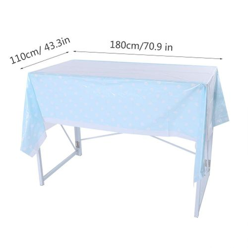 //encrypted-tbn0.gstatic.com/images?q\u003dtbnANd9GcT-E180KGHs3lgFUXOwHqJ-_VxpsQdM5z9JXGE9K9RpTn_iQnec & Disposable PVC Tablecloth with Dot Pattern Rectangle Table Cover Home Party Decor Dining Room Party Outdoor Camping Supplies