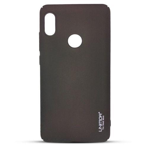 9e874cf10 Sale on Back Cover For Xiaomi Redmi Note 5 (Note 5 Pro) - Black ...