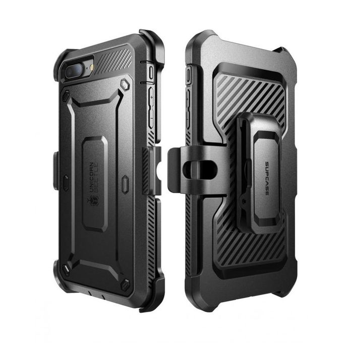 83bb751c0 Supcase Unicorn Beetle Rugged Holster Case PC And TPU Hybrid Shell - For IPhone  8 Plus/ IPhone 7 Plus - Black