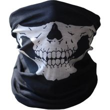 e530998f8 Scarf for head and face Black color printed on skull Item No 706 - 7 -