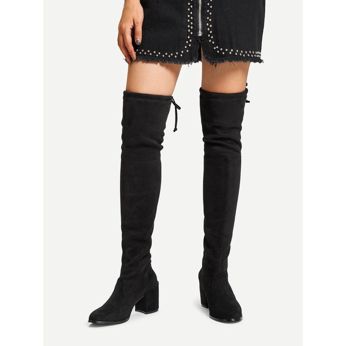 6681f70c97c Sale on Over The Knee Plain Boots