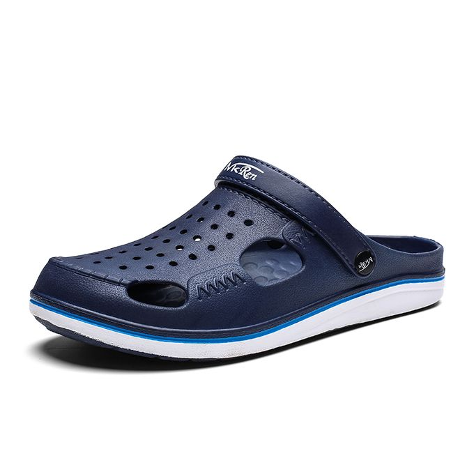 45bbc37789420 Men's Classic Clog Sandals Slip On Casual Water Shoes