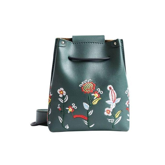 52e3c3b3ba3fa Tectores Fashion Accessories Girls Women Retro Female Simple Floral Bag  Crossbody Shoulder Bag Handbag