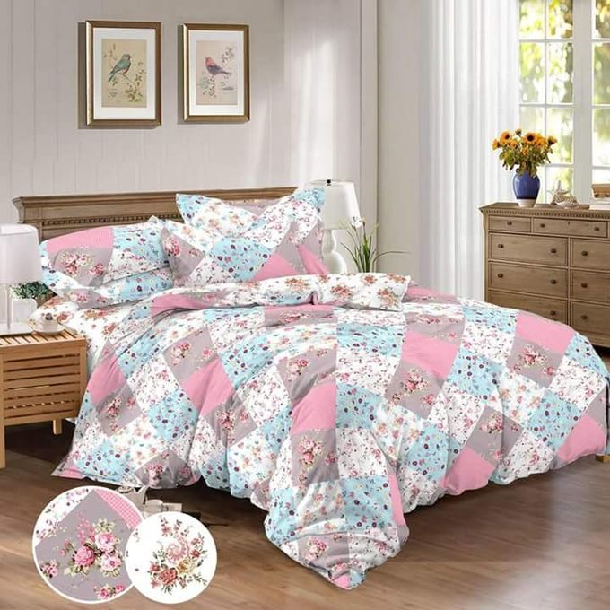 Donia Bed Linen Set – 4 Pcs – Floral –  مصر