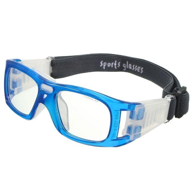 a41e6b551c ... Basketball Soccer Football Sports Glasses Protective Eyewear Bike Eye  Goggles Em Blue ...