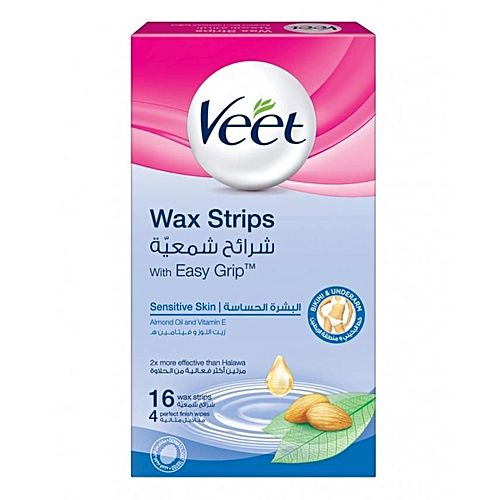 Veet Ready To Use Hair Removal Wax Strip For Bikini