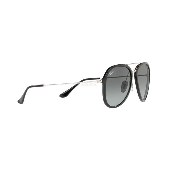 6e0cc77954 ... Ray-Ban Contemporary Pilot Sunglasses In Black Grey Gradient RB4298 601  71 ...