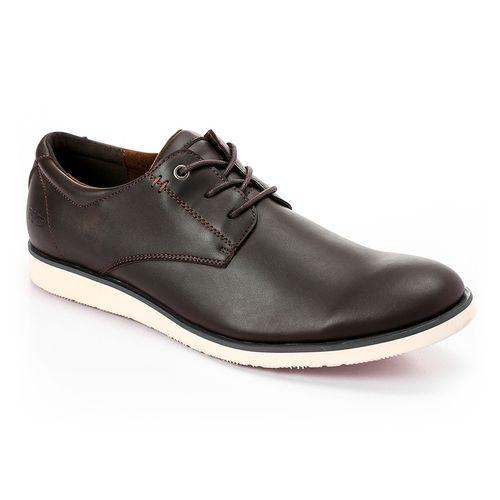 Classic Lace Up men Shoes - Brunt Brown