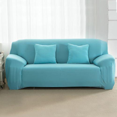 Honana High Elastic Washable Anti Mite Pure Color Fabric Sofa Protector Sofa Cover Home Slipcover