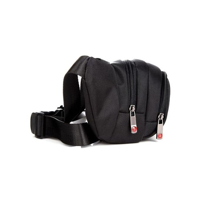 New Swiss Gear Running Belt Bum Waist Pouch Hip Fanny Travel Pack Zip Sports Bag