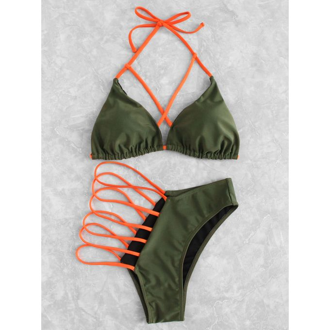 0b3715f330 Jumia Anniversary Deal! Sale on Criss Cross Ladder Cut Out Bikini ...