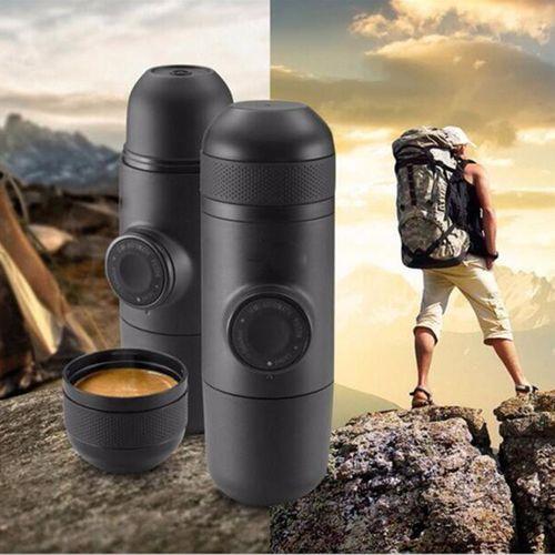 Minipresso Portable Espresso Machine Coffee Maker Outdoor Travel Mug Cup Gadget