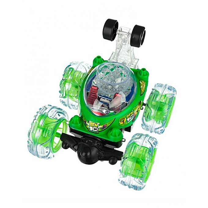 Kyro Toys Ben 10 Twister Car With Remote Control