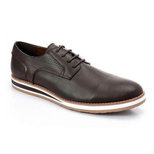 Casual To Formal Smart Men Shoes - Brunt Brown