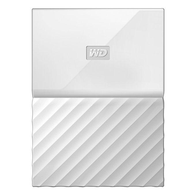 2TB My Passport Portable Storage USB 3.0 Hard Drive - White
