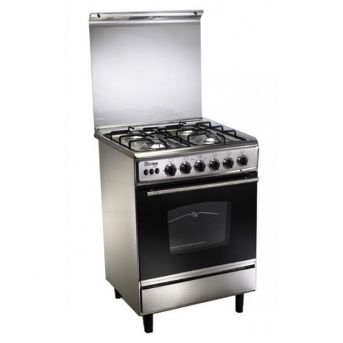 C6060SS-AP-447-L Stainless Steel Gas Cooker - 4 Burners