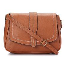 520d36c4c1e4 Saddle Leather Women Crossbody Bag - Havana