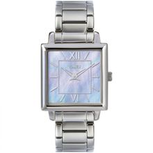 220376927 Band MaterialStainless Steel, Silver Case Size28mm Face ColorSilver Case  FinishPolished Watch ShapeSquare Case MaterialStainless Steel