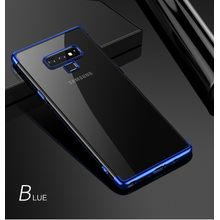 17fad0443de40 For Galaxy Note 9 Soft Case Transparent Plating Electroplate Shining Casing  Cover For Samsung Galaxy Note