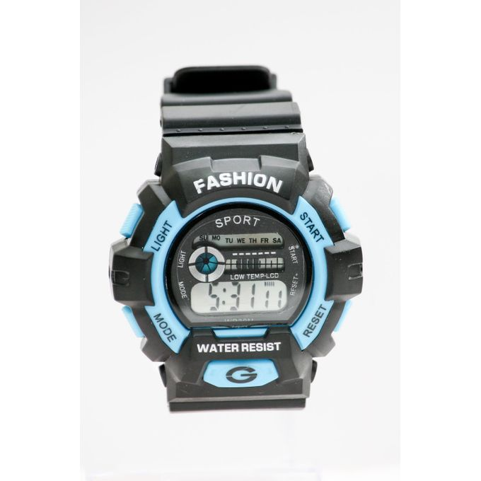 61991d23a Generic Led Digital Sports Watch - Water Resistant - For Children - Black