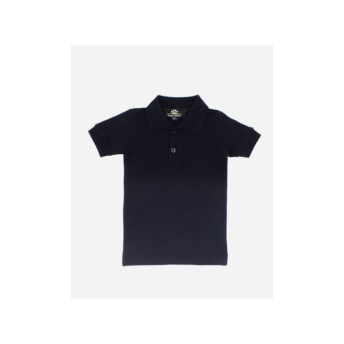 03bfc7d2f Sale on Boys Solid Polo Shirt - Navy Blue