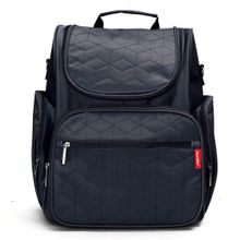 aee0d4103 Children Baby Changing Diaper Nappy Mummy Bag Backpack Handbag Mum Travel  Bag Dark Blue