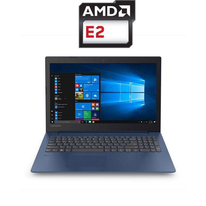 IdeaPad 330-15AST Laptop - AMD E2 - 4GB RAM - 1TB HDD - 15.6-inch HD - AMD GPU - DOS - Midnight Blue