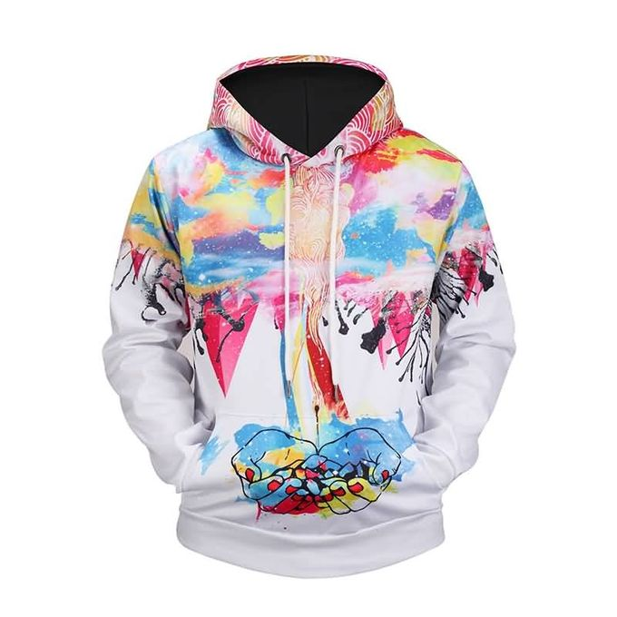 a14b53d49 Sale on Mens 3D Supreme Hoodie Leisure Style Pullovers Creative Hood ...