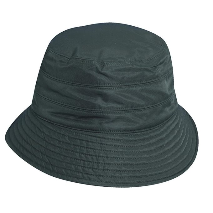 Scala Classico Womens Waterproof 3 Inch Brim Lined Rain Hat [Khaki, One Size]