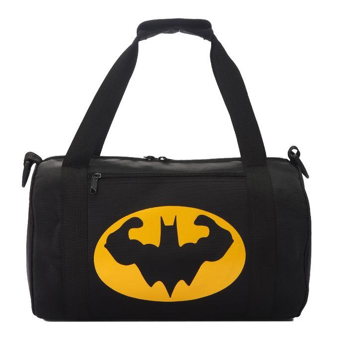 Batman Sports Gym Bag Black