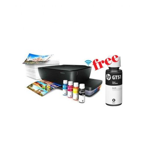 Ink Tank Wireless 415 Photo And Document All-in-One Printer + Free Ink XL  Black