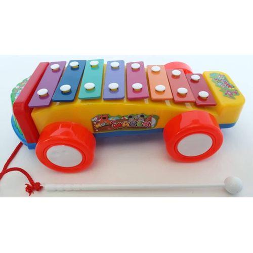 Xylophone Car - Yellow