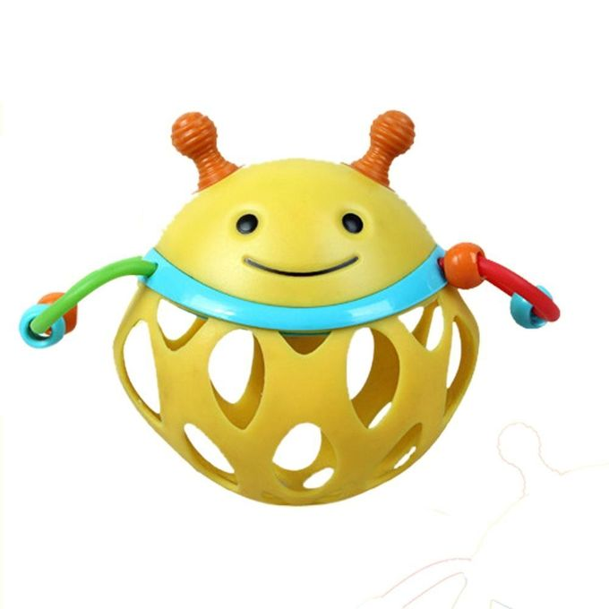 Cute Hedgehog Owl Bee Frog Design Toy Ball Handbell For Infant Baby Kids –  مصر