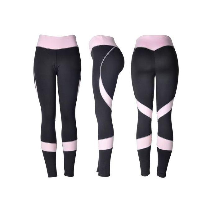 8f9aa65702edc Fashion Style Women Skinny Leggings High Waist Elastic Yoga Fitness Sports  Heart-shaped Pants