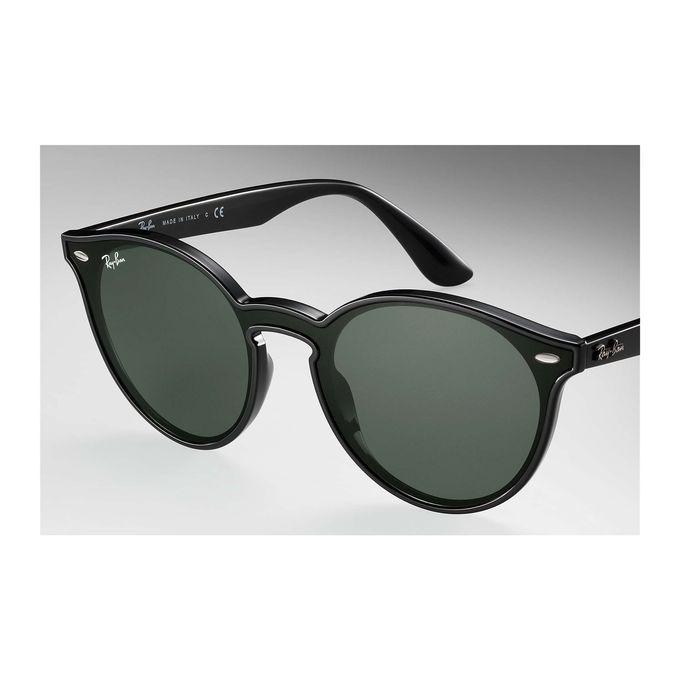 586398b033 Sale on Ray-Ban BLAZE RB 4380N BLACK G15- CLASSIC GREEN Unisex ...