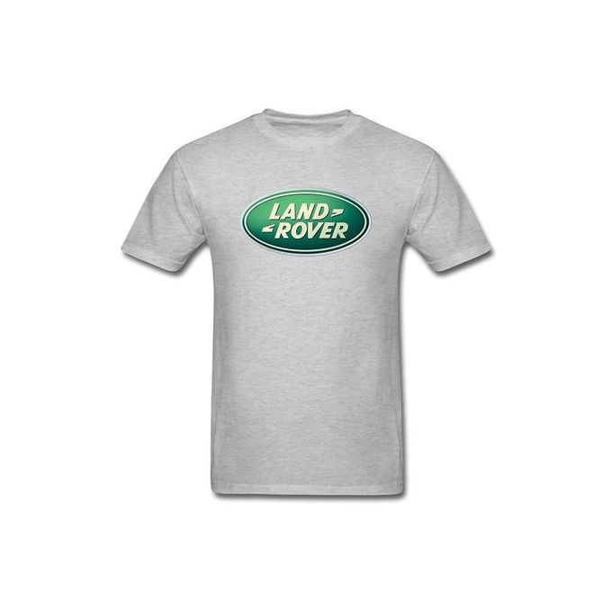 11bdca88 Men's LAND ROVER Logo T Shirt Fashion Short Sleeved T-shirts Black Summer Funny  Tee