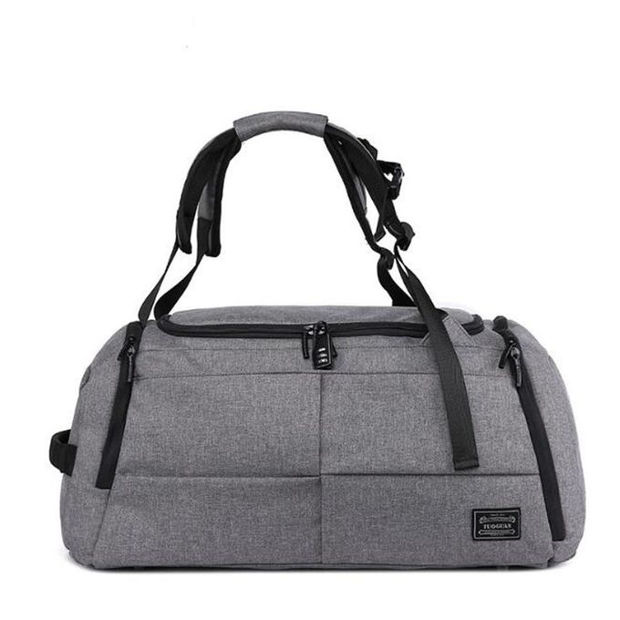 72318a478f1b Men Women Luggage Travel Bag Satchel Shoulder Gym Sports Bag Duffel Handbag   grey