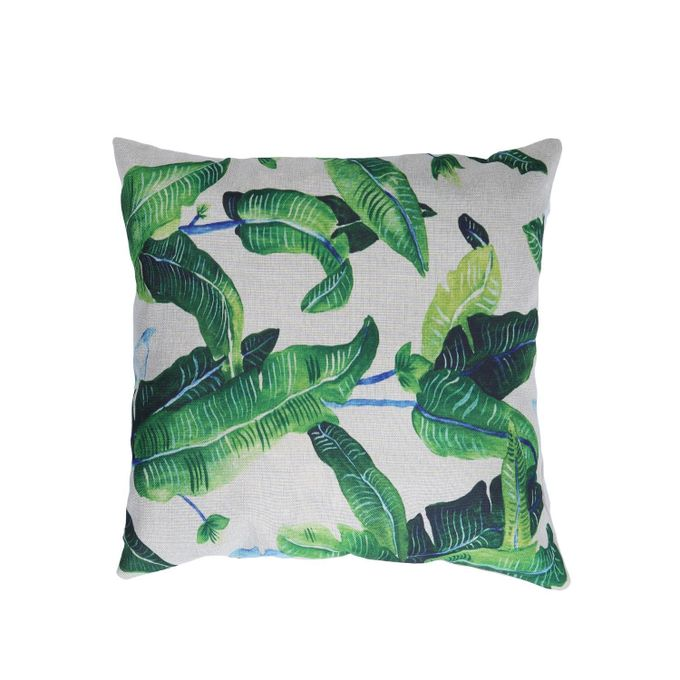 Pillowcase Green Plants Decorative Cushion Cover Oil Painting Throw Pillow Case –  مصر